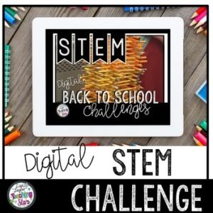 Digital | Back to School STEM Activities | Distance Learning | Google Classroom