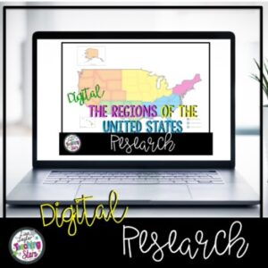 Regions of the United States Research | Distance Learning | Google Classroom