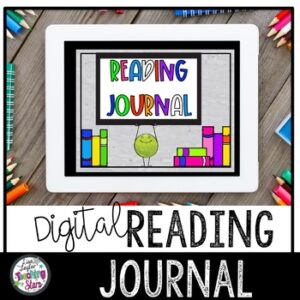 Digital Reading Journal | Google Classroom | Distance Learning