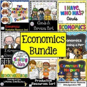 Economics Activities Bundle | Distance Learning