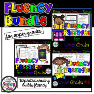 Reading Fluency Passages Bundle (Distance Learning)
