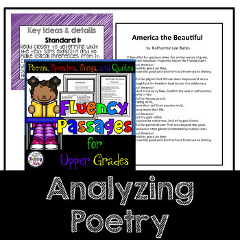 Fluency Poems and Cards