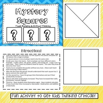 Mystery Squares