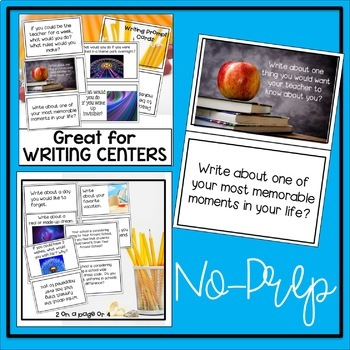 Writing Centers Cards