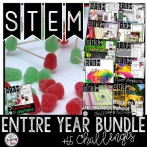 STEM Entire Year includes Winter STEM Activities | Digital | Google Classroom