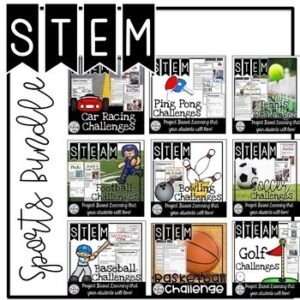 STEM Sports Bundle | Distance Learning