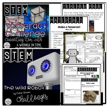 STEM Novel Connections Bundle