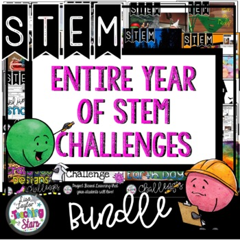 Entire Year of STEM Activities