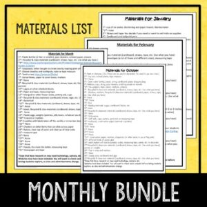 Daily STEM Activities Bundle