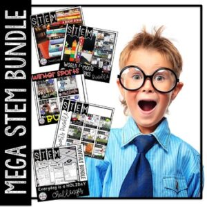 STEM Mega Activities Bundle Distance Learning