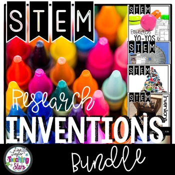STEM Researching Inventions Bundle