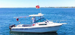 High Ty'd Dive Charter Boat