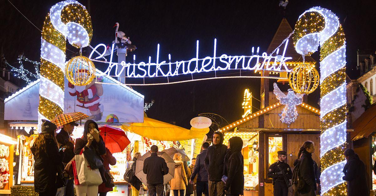 Strasbourg, France Christmas Market