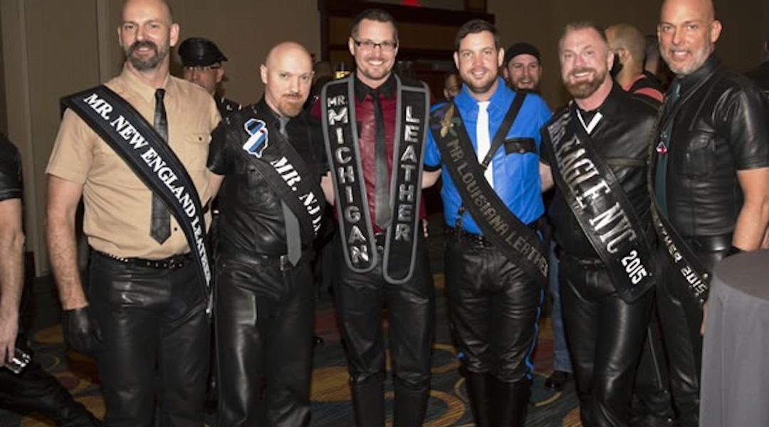 When is Mr. New England Leather Weekend?