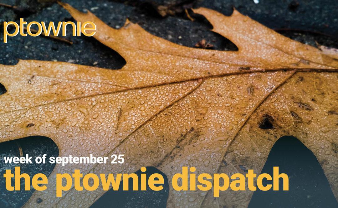 ptownie dispatch september 25