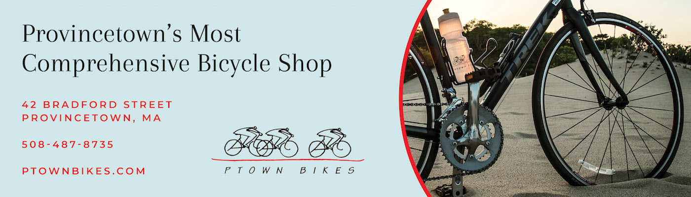 Ptown Bikes Provincetown Ad