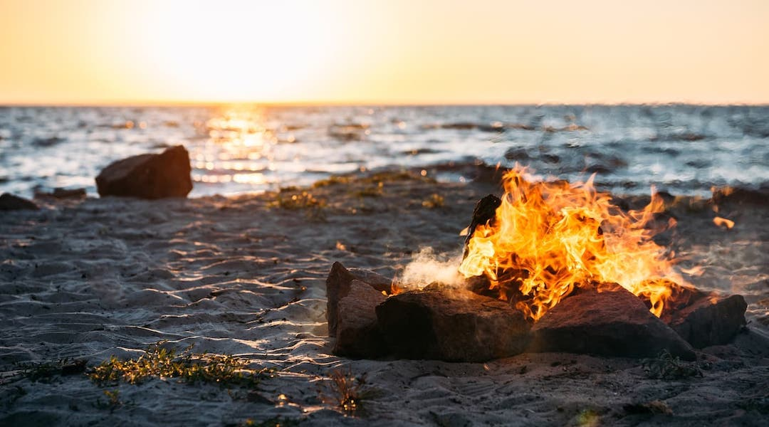 Beach Bonfire Provincetown