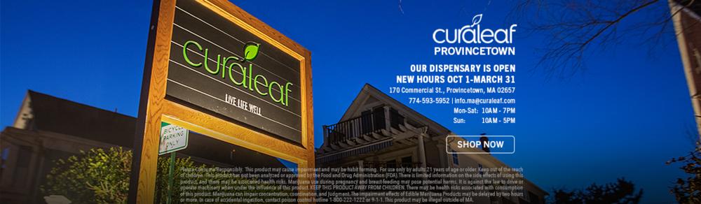 Curaleaf Provincetown 2020 Ad