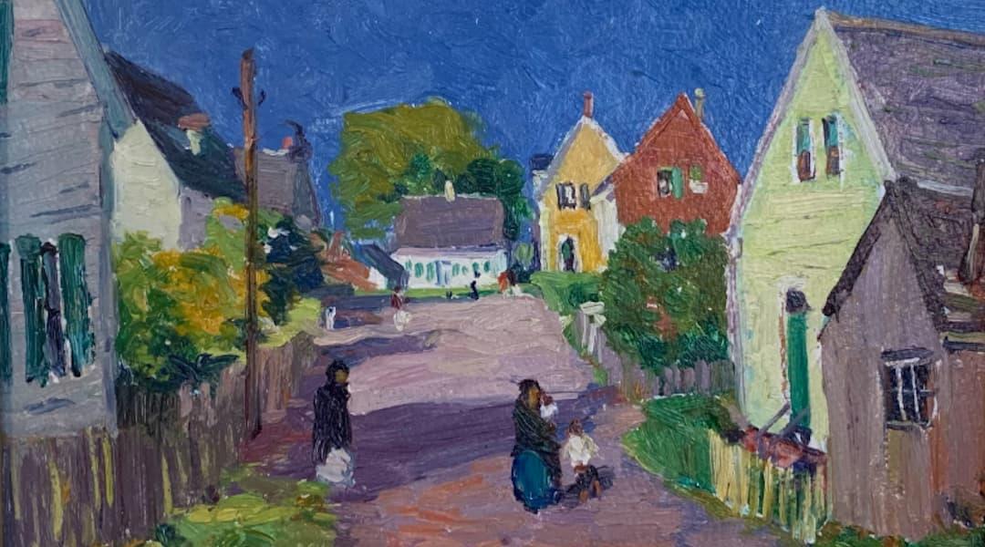 Hammock Gallery Painting