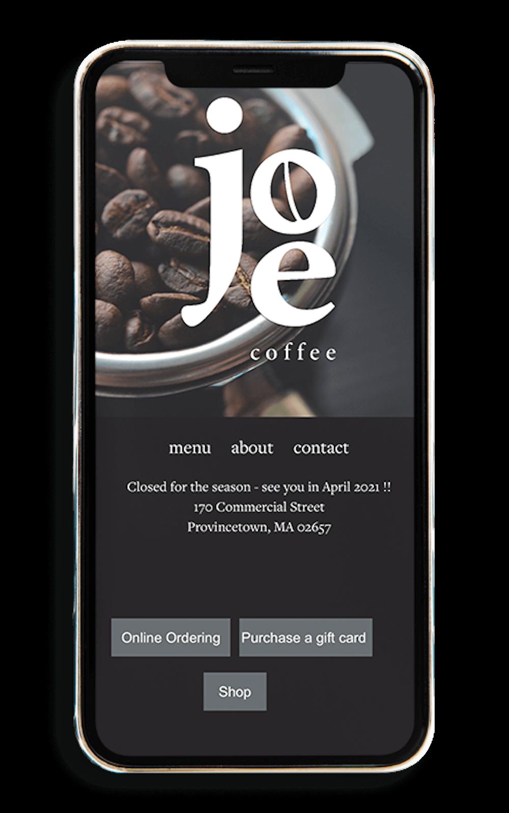 Joe Coffee Mobile