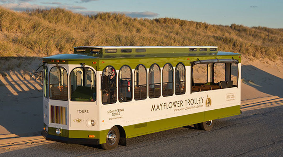 Want to Take a Tour of Ptown with the Mayflower Trolley?
