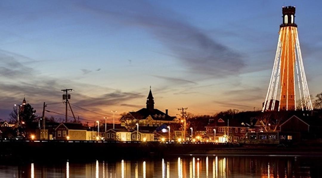 Pilgrim Monument Lighting Provincetown