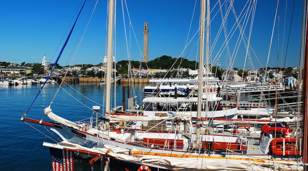 Provincetown Harbor Schooner