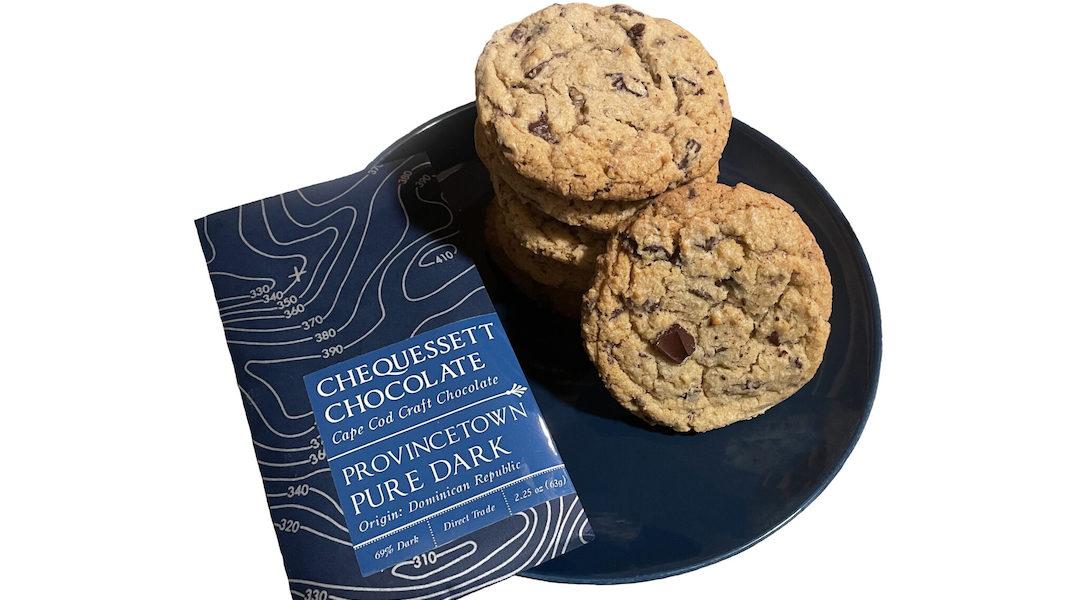 Chequessett Chocolate Pure Chocolate Chunk Cookies