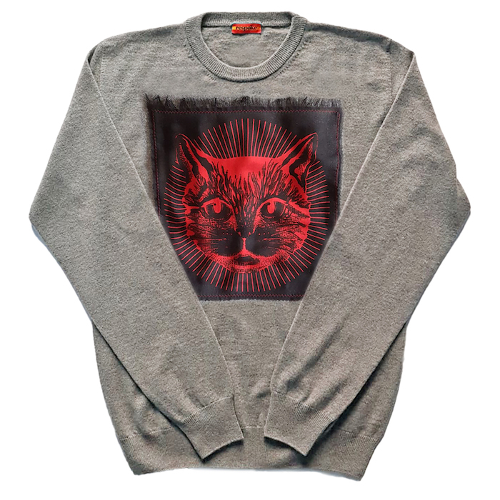 Cashmere Gucci Cat Sweater