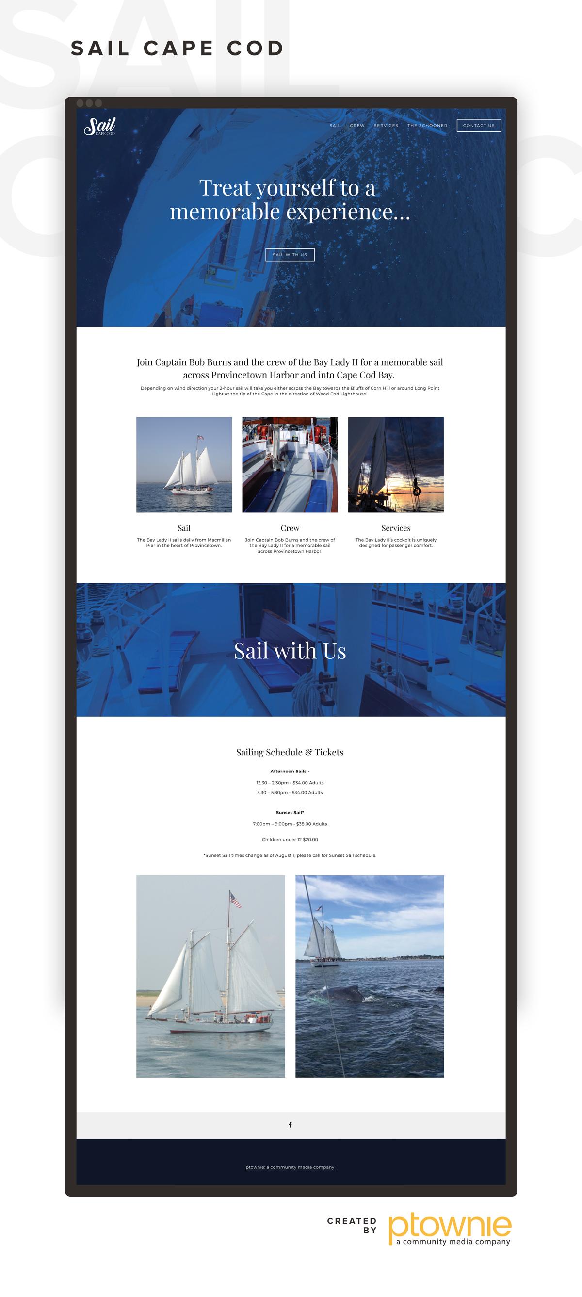 Sail Cape Cod Provincetown ptownie