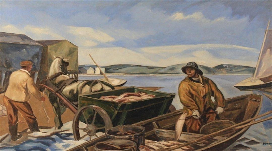 Provincetown History: Freezing Fish