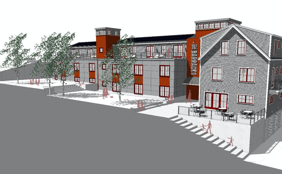 """""""The Barracks"""".  A New Housing Concept in Ptown"""