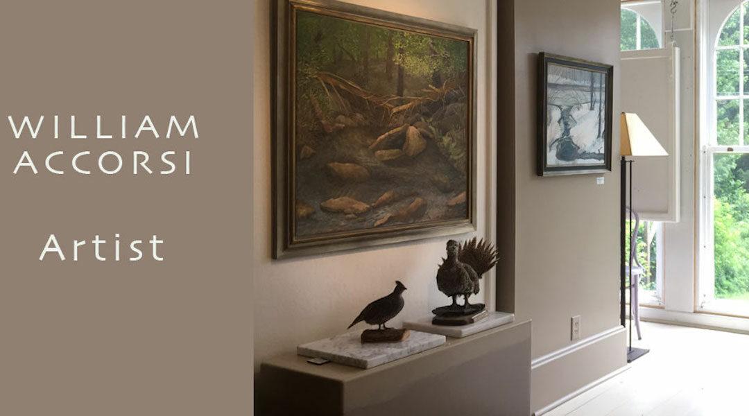 William Accorsi's whimsical work returns to the Woodman/Shimko Gallery