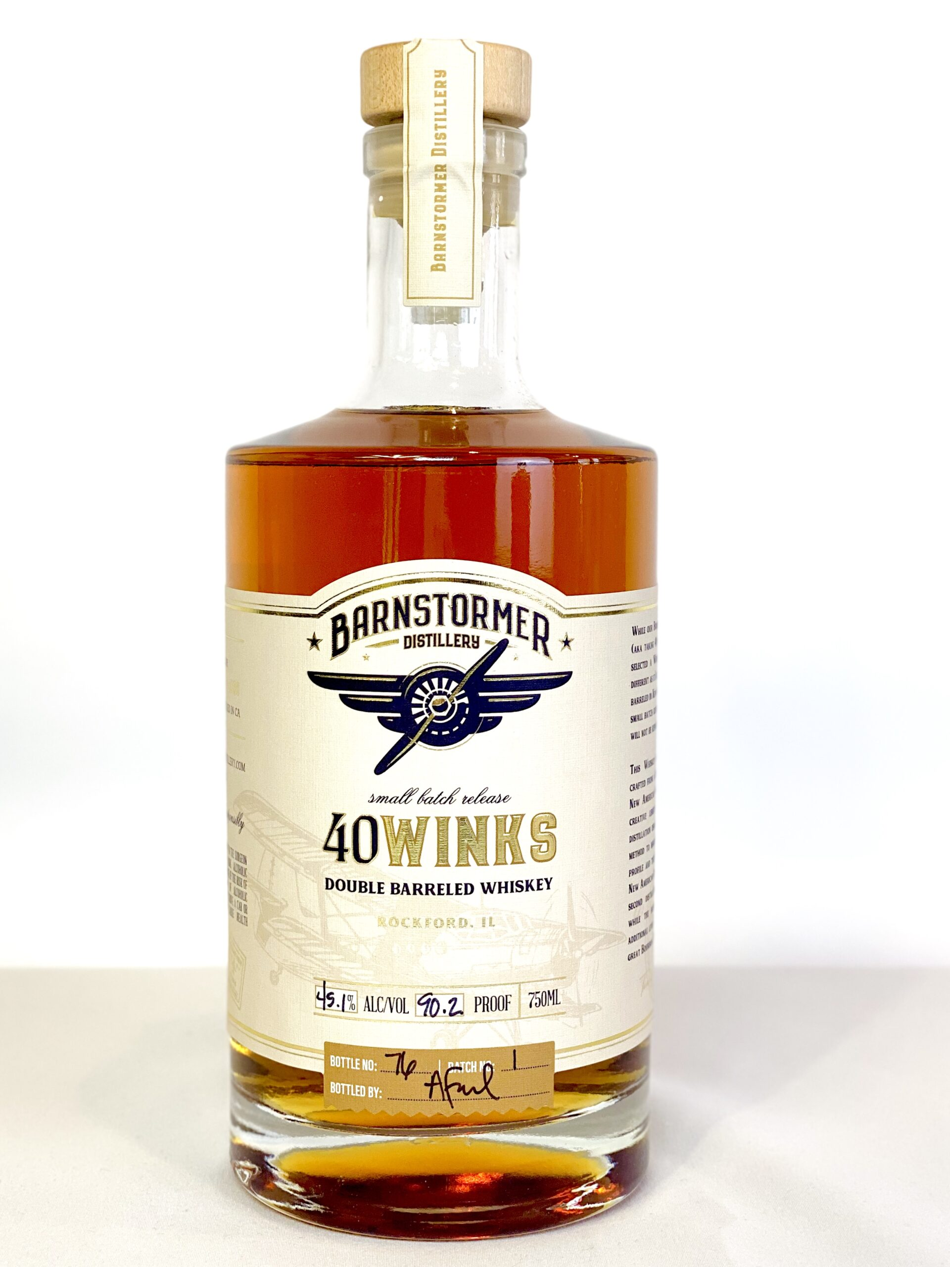 Barnstormer 40 Winks Whiskey 90 Proof