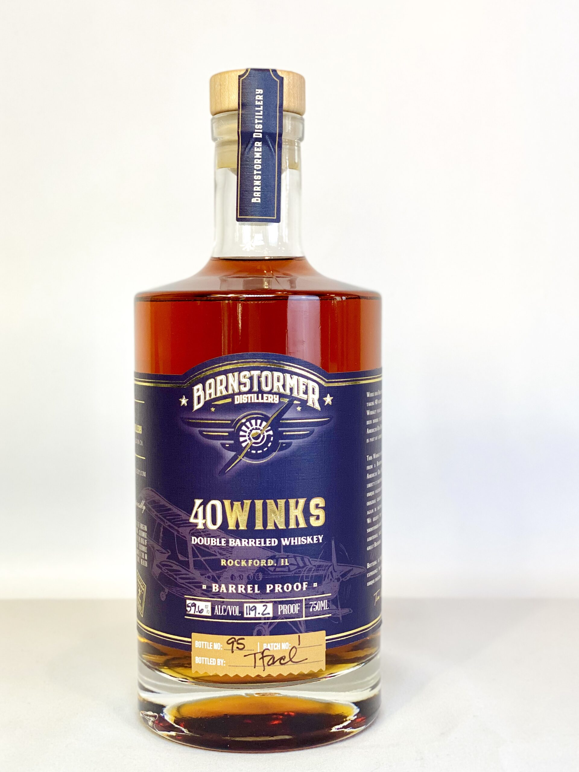 Barnstormer 40 Winks Whiskey Barrel Proof