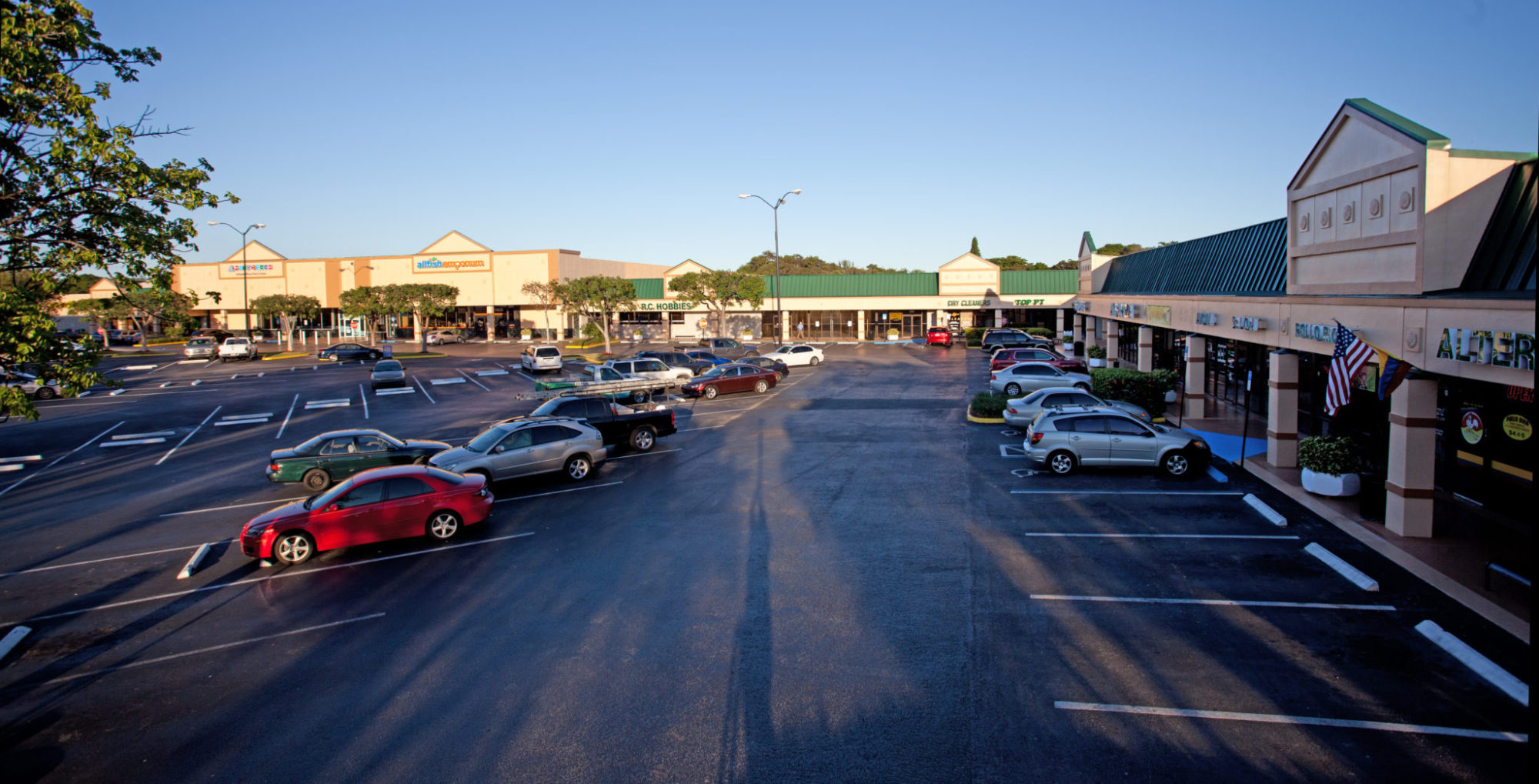 October 17th, 2013 - Tamarac, Florida: The University Commons Shopping Center.