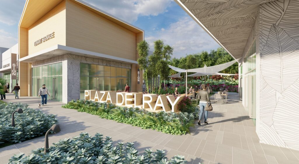 Rendering of Plaza Delray