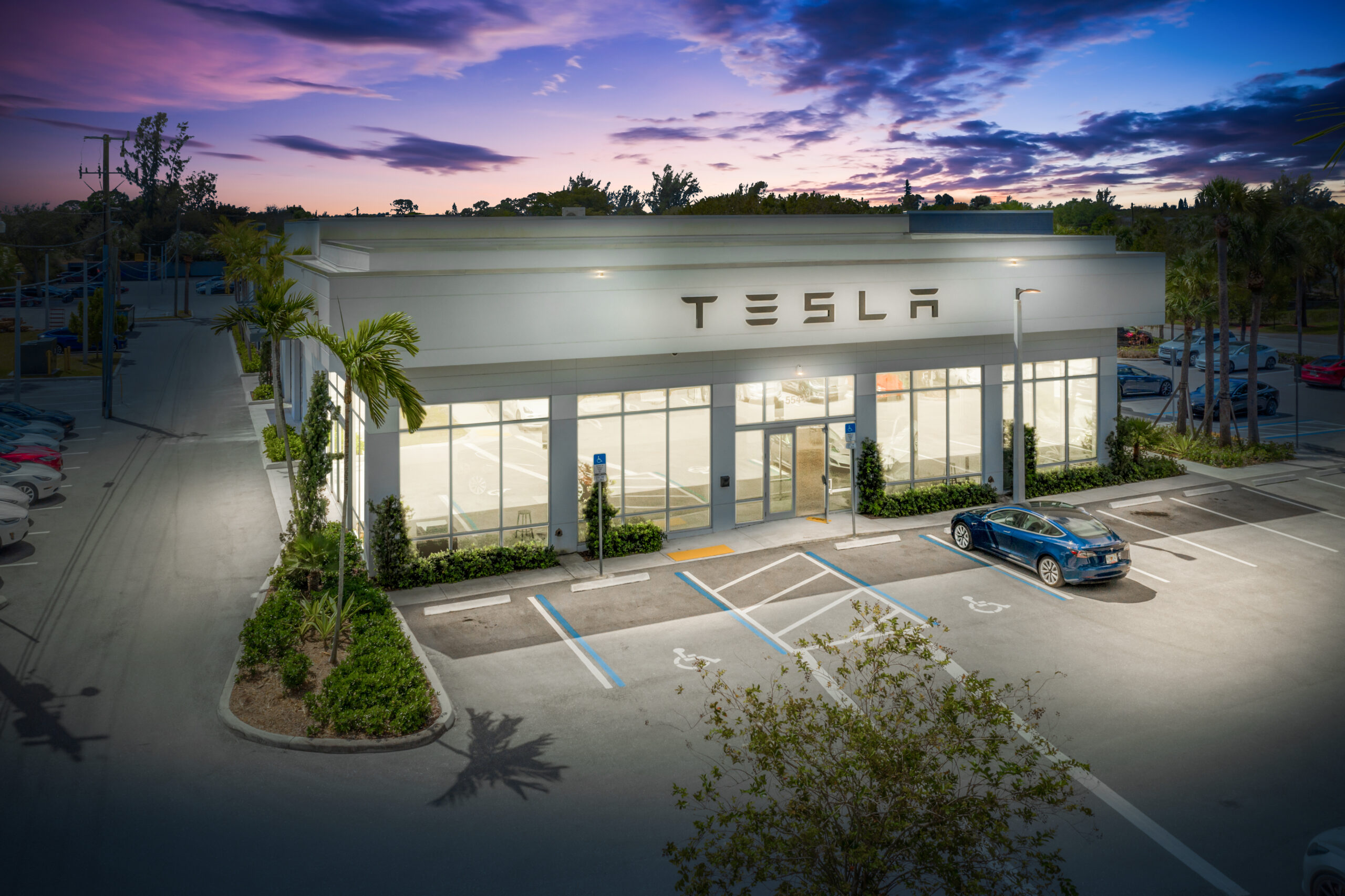 PEBB Enterprises Closes $12.87 Million Sale of Tesla Service Plus in West Palm Beach