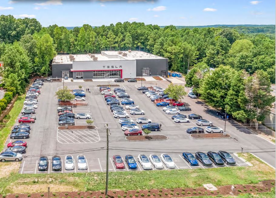 PEBB Enterprises Closes $13.3 Million Sale of Tesla Service Plus in North Carolina