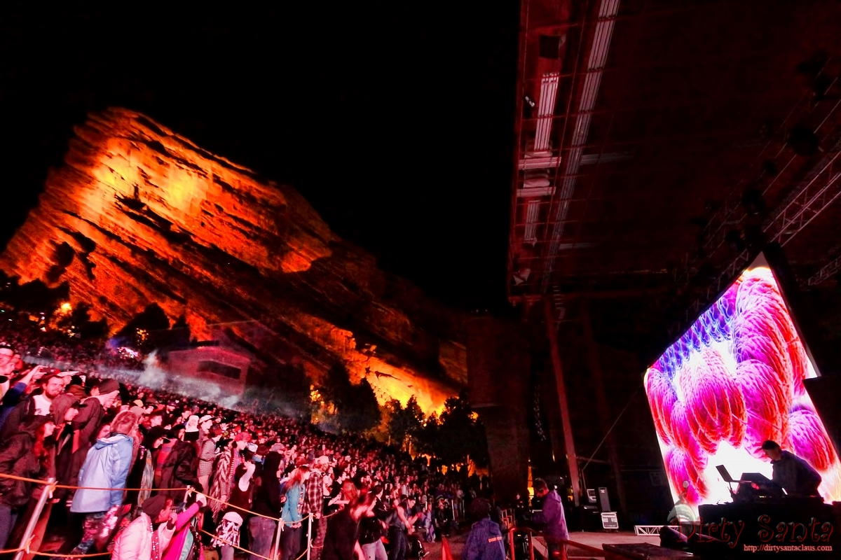 Visuals for Tipper Red Rocks