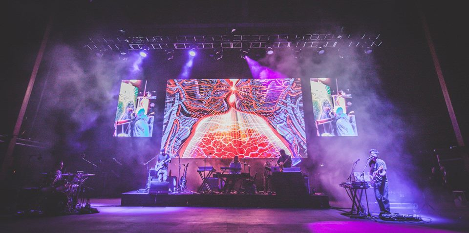 Visuals for Concert at Red Rocks