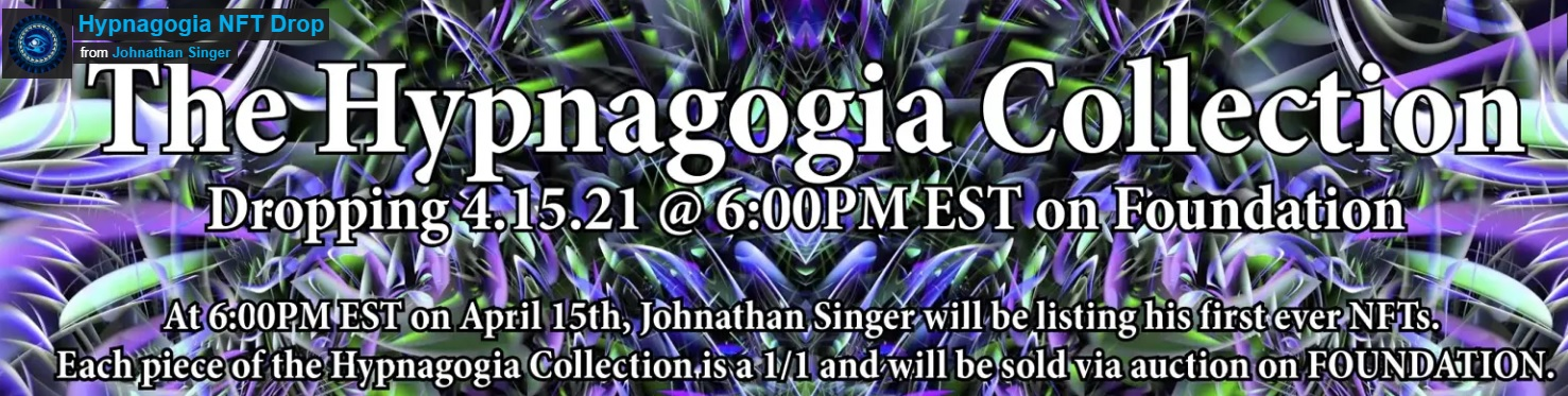 The Hypnagogia Collection by Johnathan Singer