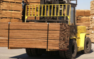 AWI Lumber on Forklift
