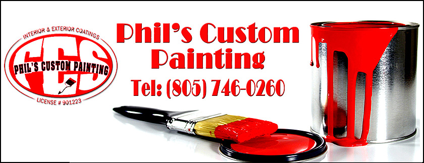 Phil's Custom Painting Header Exterior