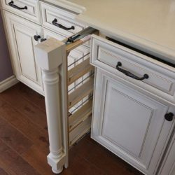 San Antonio Kitchen Cabinet Filler Pull Out Space Solution
