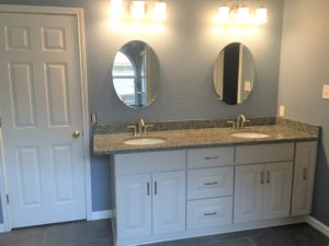 San Antonio bathroom cabinet remodeling contractors stone oak bathroom renovation bathroom conversion alamo heights bathroom countertops sinks vanities walk-in shower alamo ranch