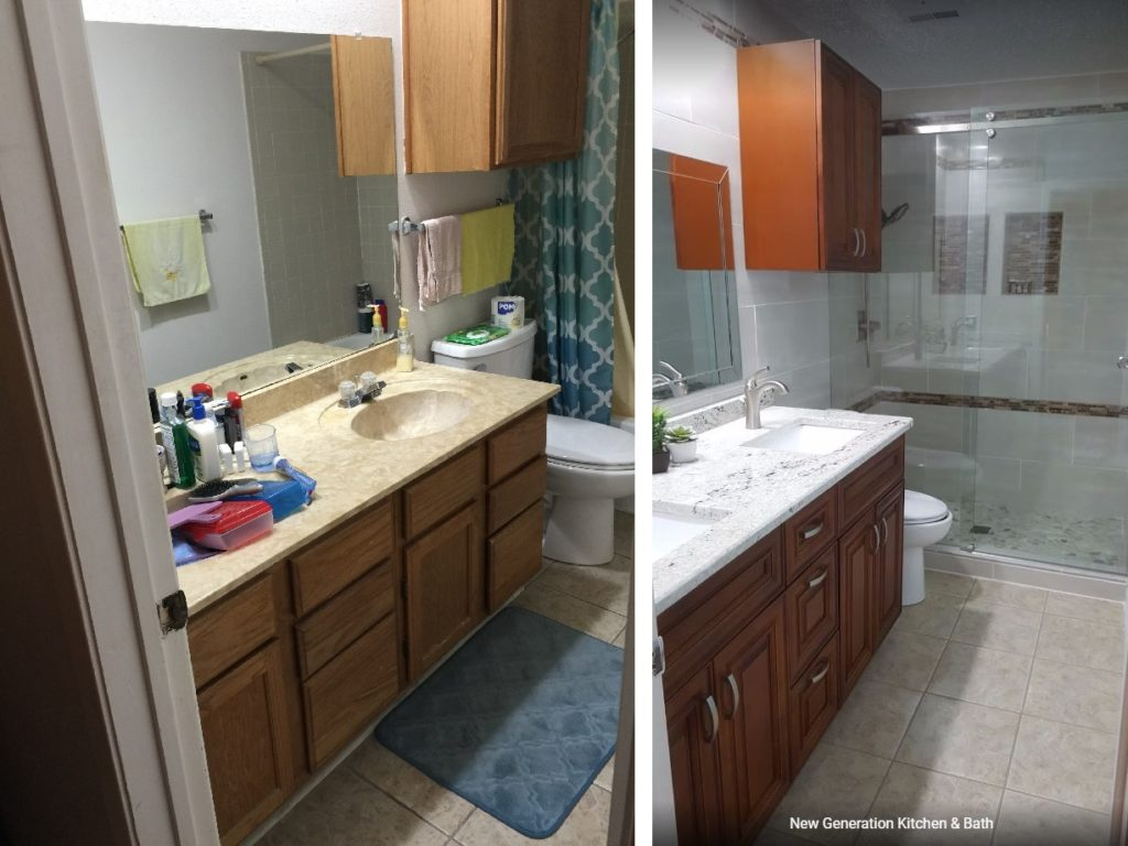Professional Bathroom Remodeling | New Generation Kitchen ...