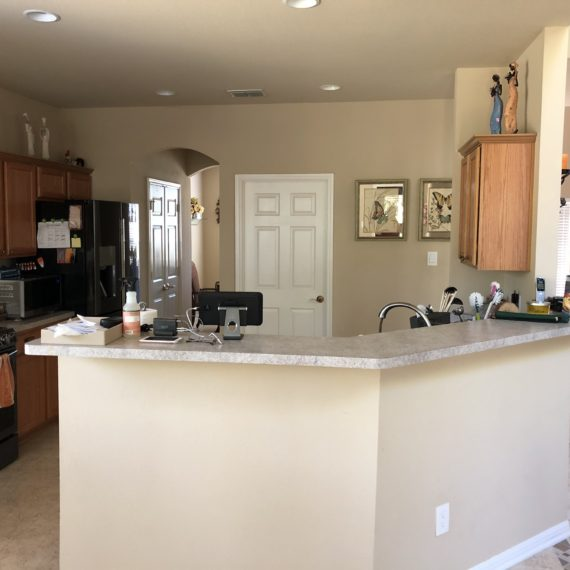 Canyon Springs Kitchen Remodeling - Before