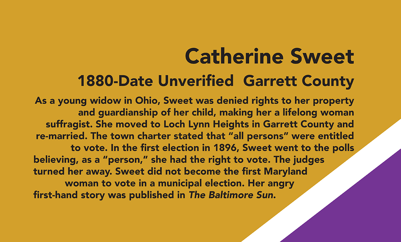 Catherine Sweet