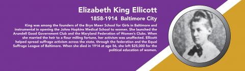 Elizabeth King Ellicott